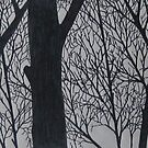 Ink Trees 3 by Christopher Clark