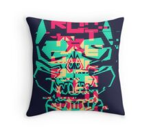 Priority Gordian Interrupt N°2-Glitch Throw Pillow