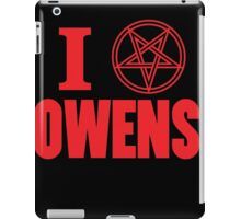 Hail Owens Pentagram iPad Case/Skin