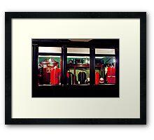 On Parade Framed Print