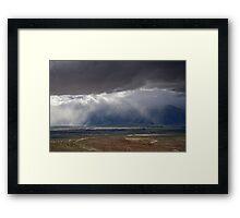 Desert Irrigation System Framed Print