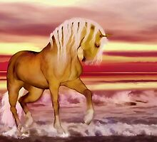 Palomino'... by Valerie Anne Kelly