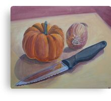 Pumpkin Stew Canvas Print