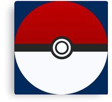Poke Ball - Pokemon Canvas Print