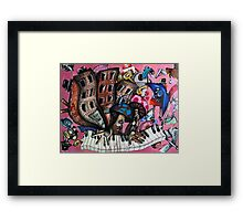 Alice! Is dat you!! In Da Bronx!!?? Framed Print