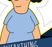 Everything Is Okay - Color Sticker