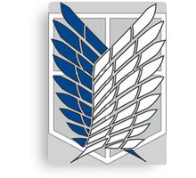 AOT Recon Corps Logo Canvas Print