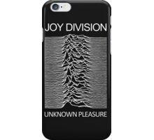 Joy Division Unknown Pleasure Album Cover iPhone Case/Skin