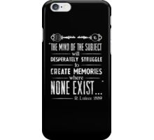 The Infinite Starter Remastered (White) iPhone Case/Skin