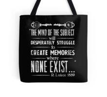 The Infinite Starter Remastered (White) Tote Bag