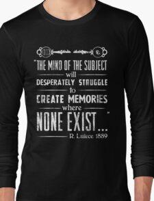 The Infinite Starter Remastered (White) Long Sleeve T-Shirt