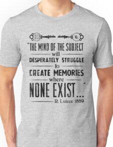 The Infinite Starter Remastered (Black) Unisex T-Shirt