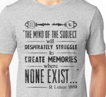 The Infinite Starter Remastered (Black) Unisex T-Shirt
