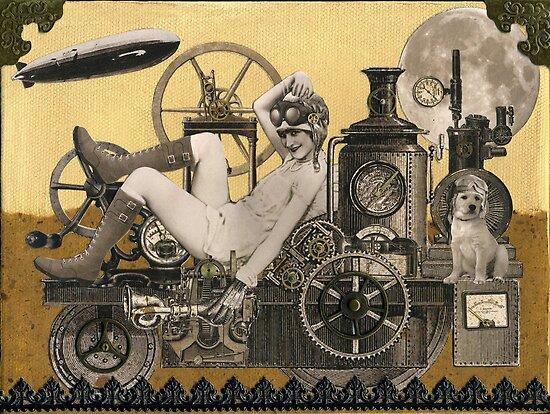 Steampunk Heroine - Arabella Tinkerton by WinonaCookie