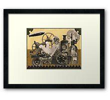 Steampunk Heroine - Arabella Tinkerton Framed Print