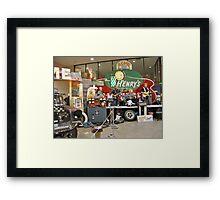 Acme speed Shop ~ RICHFIELD MINNESOTA BAND Framed Print