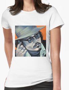 Depp Womens Fitted T-Shirt