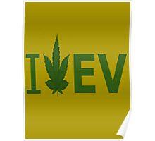 I Love EV Poster