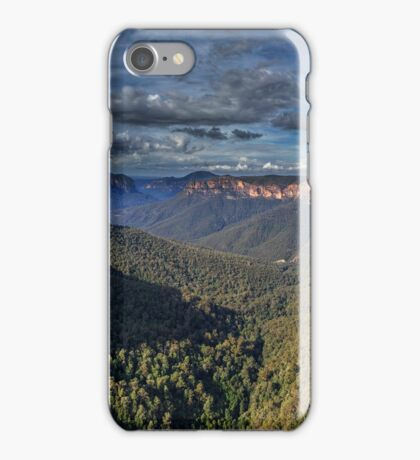 Govett's Leap Panorama iPhone Case/Skin