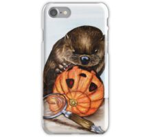 The Case of the Pumpkin Face iPhone Case/Skin