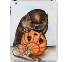 The Case of the Pumpkin Face iPad Case/Skin