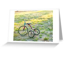 Little Tricycle..... Greeting Card