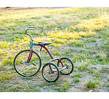Little Tricycle..... Photographic Print