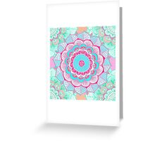 Tropical Doodle Flower Greeting Card