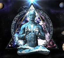 The Yoga Gate Keeper by sacredvisions