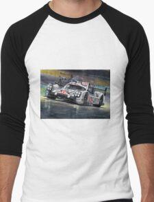 2015 Le Mans 24 LMP1 WINNER Porsche 919 Hybrid Bamber Tandy Hulkenberg Men's Baseball ¾ T-Shirt