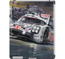 2015 Le Mans 24 LMP1 WINNER Porsche 919 Hybrid Bamber Tandy Hulkenberg iPad Case/Skin