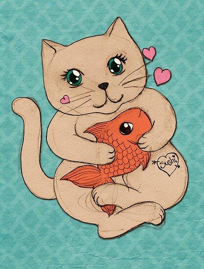 Sushi Love by micklyn