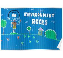 Environment Rocks Poster