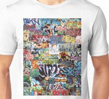 Old school graffiti mix N°1 Unisex T-Shirt