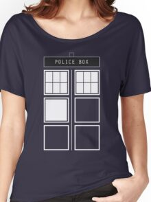 Feel like a police box Women's Relaxed Fit T-Shirt