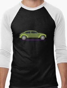 green car Men's Baseball ¾ T-Shirt