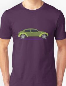 green car Unisex T-Shirt