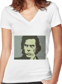 Nick Cave Women's Fitted V-Neck T-Shirt