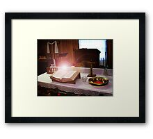 Obedience is Better Than Sacrifice Framed Print