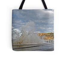 Rough Sea Tote Bag