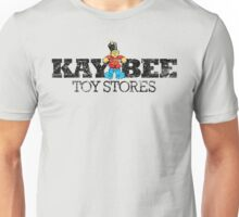 KAY BEE TOYS VINTAGE DISTRESSED LOGO KB Unisex T-Shirt