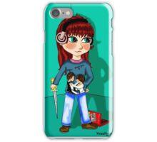 Charlie Bradbury Chibi iPhone Case/Skin