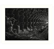 Theseus and the Minotaur Art Print