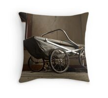 Rubber baby buggy bumbers Throw Pillow