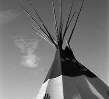 Tepee-Truth or Consequences-New Mexico by Desertwayfarer