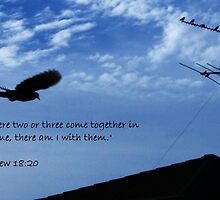 Matthew 18:20 by Tisa