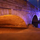 Bedford town bridge in the evening by fotdmike