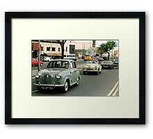 Mercy sakes alive, looks like we got us a convoy ! Framed Print