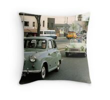 Mercy sakes alive, looks like we got us a convoy ! Throw Pillow