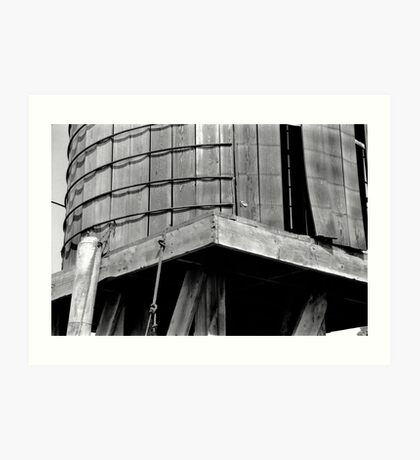 Water Tower-Marin County, CA Art Print